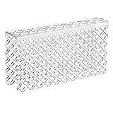 mDesign Tappetino Lavello - Protezione Divisore Doppio Lavandino - Soluzione antigraffio per proteggere le superfici laterali - In robusto PVC - Trasparente