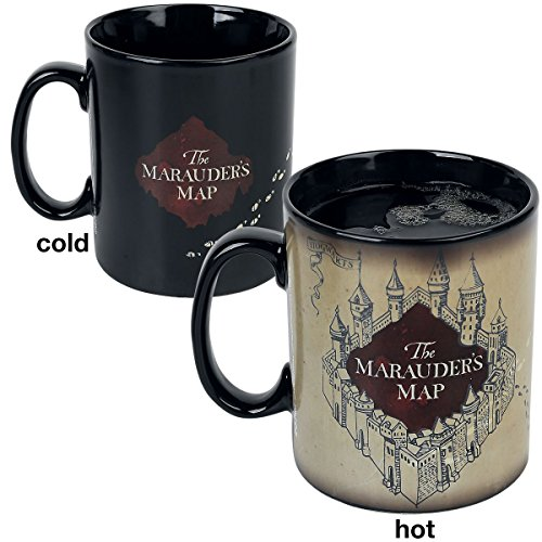Abystyle Tazza magica Harry Potter Mappa del Malandrino (per il calore) 460 ml