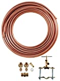 LDR 509 B5102 Ice Maker/Humidifier Installation Kit with Copper Tubing, 1/4-Inch X 25-Foot