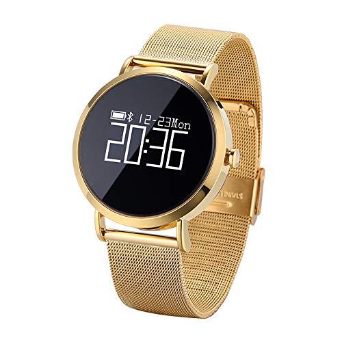 irm CV08 Geschäft Gesundheit Sport Smart Armband wasserdicht Blutdruck Herzfrequenz Schlaf Testanruf SMS ()