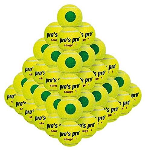grün Junior Tennis Bälle 60Pack ()
