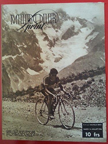 16/07/46 miroir sprint CYCLISME RONDE DE FRANCE et tennis football par maurice vidal