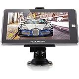FLOUREON GPS Voiture Europe 7 Pouces Tactile Navigation de Auto Système de Multi-langue Carte Gratuite du Royaume-Uni et de l'Europe Mise à jour à Vie Multimédia 8G