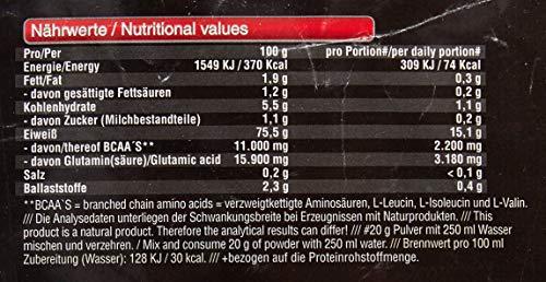 BWG Amino 6K Protein Shake, 6 hochwertige Eiweißquellen mit BCAA`S und Glutamin für Muskelaufbauphase, Sport, Fitness, Triple Chocolate, 1er Pack (1 x 2,5 kg)