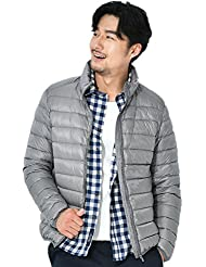 SHISHANG Men's jackets, hooded jackets, winter pure, lightweight, down coats, 90 plush, 7-color optional.