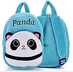 Frantic Velvet School Bag - 2 to 5 Age (Blue)