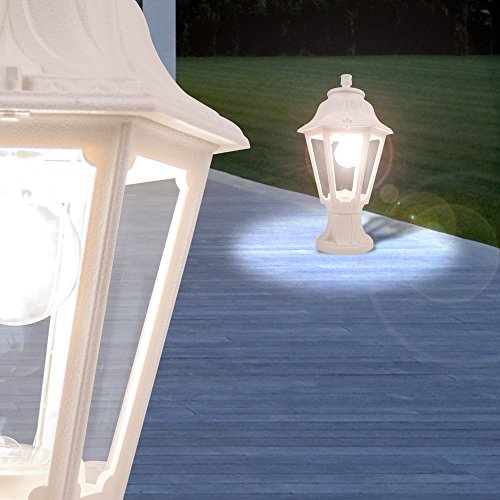 MIA Wand Leuchte AUSSEN Ø150mm// LED// Modern// Weiß// Alu// Lampe Aussenlampe Aussen