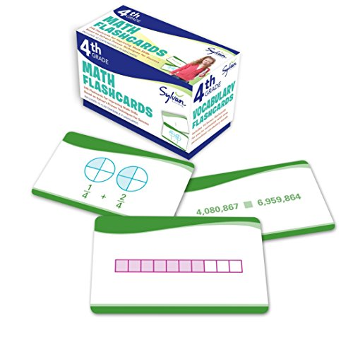 cards: 240 Flashcards for Improving Math Skills Based on Sylvan's Proven Techniques for Success (Sylvan Math Flashcards) ()
