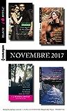 8 romans Black Rose + 1 gratuit (nº450 à 453 Novembre 2017)