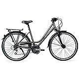 RALEIGH Damen Oakland Fahrrad, carbonitegrey, 50