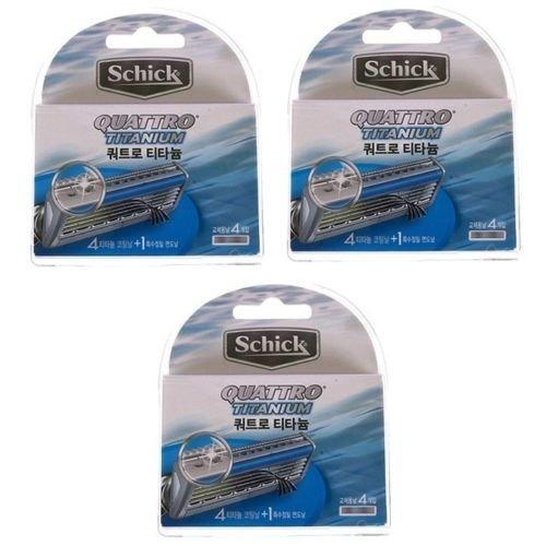 schick-quattro4-titanium-12-cartridges-refills-blade
