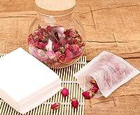 Generic 8x10cm : Without pollution Empty biodegradable Corn fiber tea bag Filters heat sealed empty tea bags 100pcs/lot