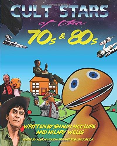 Cult Stars of the 70s and 80s - paperback or Kindle