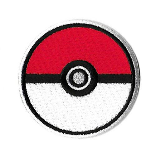 coolpart 7,6cm Pokemon Pokeball Comics TV Film bestickt Emblem Punk Rockabilly Aufnäher Nähen auf/Eisen auf Patch perfekt (Dress Up Kit Pirate)