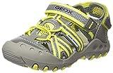 Un classico tra i sandali ragazzi GEOX, robusto, atletico e super confortevole. Questo Outdoorsandale si sono ben preparati per tutte le attività per il tempo libero. I suoi superiori si presenta nella consueta qualità Geox, un mix di tessuto Tecno-m...