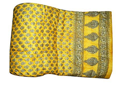 Sovam International Double Bedding Quilt Cotton Jaipuri Razai Blanket Indian