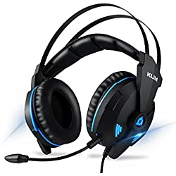 KLIM IMPACT V2 – Cascos Gaming compatible con PC /PS4/Switch