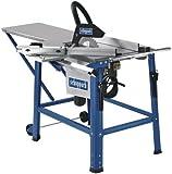Scheppach 3901312949 Säge / Kreissäge / Elektro - TischkreissägeHS120 | mit zahlreichem Zubehör, langlebiges Sägeblatt für gleichbleibende und präzise Schnittergebnisse | 2200 Watt Induktions-Motor