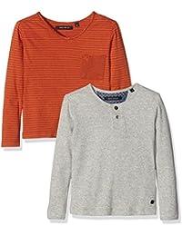 Marc O' Polo Kids Jungen Langarmshirt 2 in 1 T-shirt 1/1 Arm