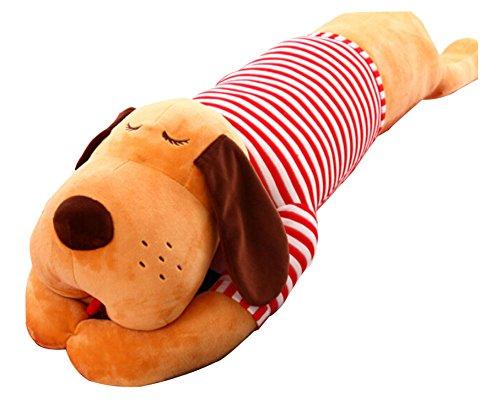 Plüsch-Spielzeug Hund Puppe schöne Puppe Schlafkissen Red White Stripe (Beanie White Stripe)