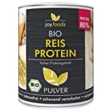 joy.foods Bio Reisprotein, rein pflanzliche Proteinquelle, 80% Eiweiß, vegan,...