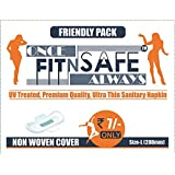 FITNSAFE Sanitary Napkin Non Woven Cover (Pack Of 30)