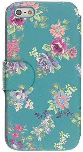 Trendz Folio Schutzhülle Case Cover für iPhone 6/6S - Oriental Floral Blumenmuster