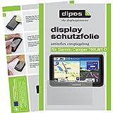 dipos I 3X Schutzfolie matt passend für Garmin Camper 760LMT-D Folie Displayschutzfolie