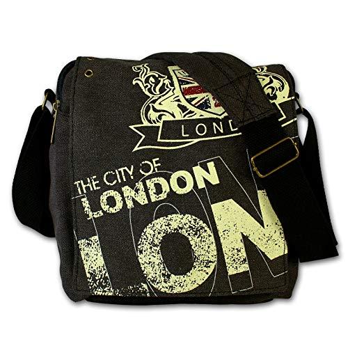 Robin Ruth The City of London borsa a tracolla di tela, colore nero