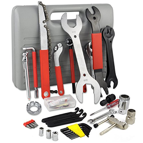LARS360 44 tlg. Fahrrad Reparaturset Werkzeugkoffer Fahrrad Werkzeug Bike Tool Set Multifunktionswerkzeug - 4