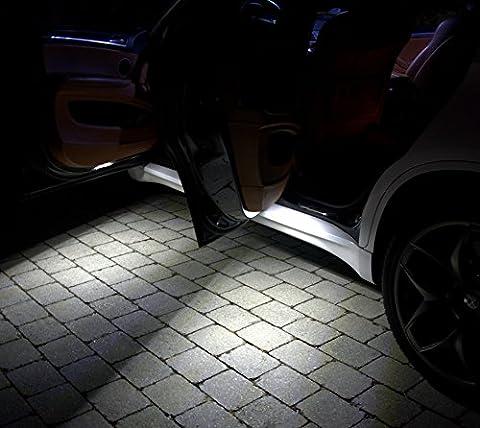 4x feux de sortie de la porte SMD LED Xenon Blanc erreur Can-bus gratuit approprié pour Jeep Wrangler Unlimited