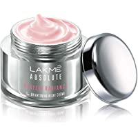 Lakme Absolute Perfect Radiance Brightening Night Cream 50 g, Daily Repair Face Moisturizer for Illuminated, Glowing…