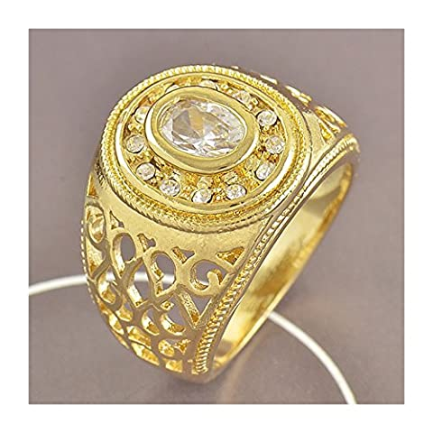 Bague en Or Jaune 18 Carats Diamants de femme Taille 57 LIVRAISON GRATUITE - 18k allianz solitar