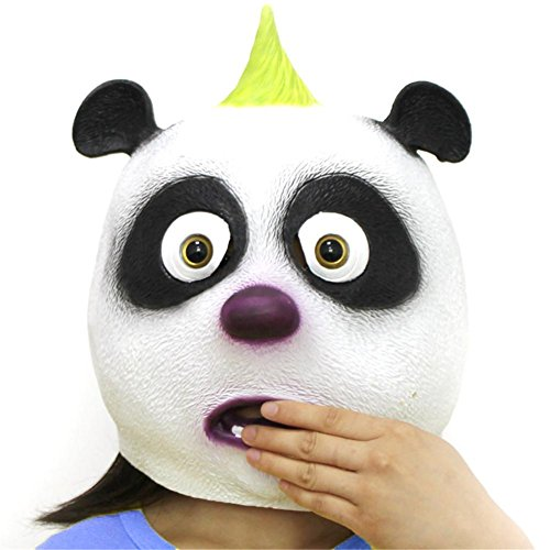 Monster Up Make Kit High (SQCOOL Halloween Panda Lustige Maske Kinder Performance Requisiten Neue High Quality Latex Make - up)