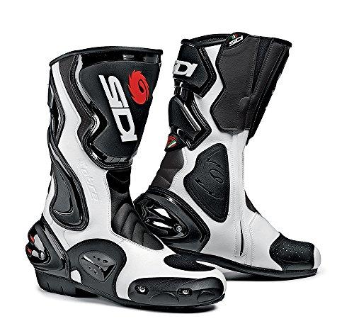 Sidi Cobra Motorradstiefel, Schwarz-Weiß, Größe: 38