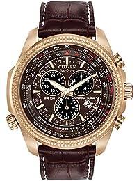 Citizen Analog Brown Dial Unisex Watch - BL5403-03X