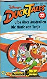 *Vintage* MC DISNEY Hörspiel-Kassette DUCK TALES # 22: UFOS ÜBER AUSTRALIEN & DIE HARFE VON TROJA -