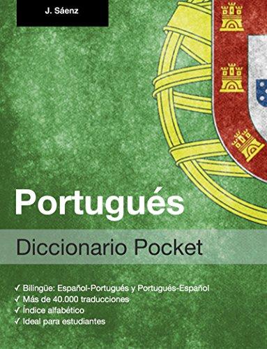 Diccionario Pocket Portugués por Juan Sáenz