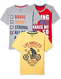 Sunday Sale : Flat 50% And More OFF On Cherokee Boys' Plain Combo T-Shirt (Pack of 3) low price image 13