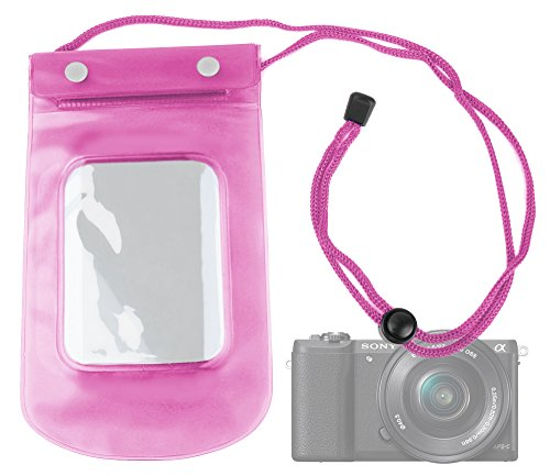 duragadget-funda-impermeable-rosa-para-sony-ilce-5100-l-alpha-a5100-ideal-para-proteger-su-smartphon