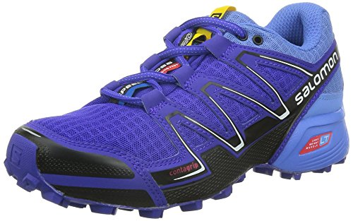 Salomon Speedcross Vario, Chaussures de trail femme Violet - Violett (Spectrum Blue/Petunia Blue/Black)