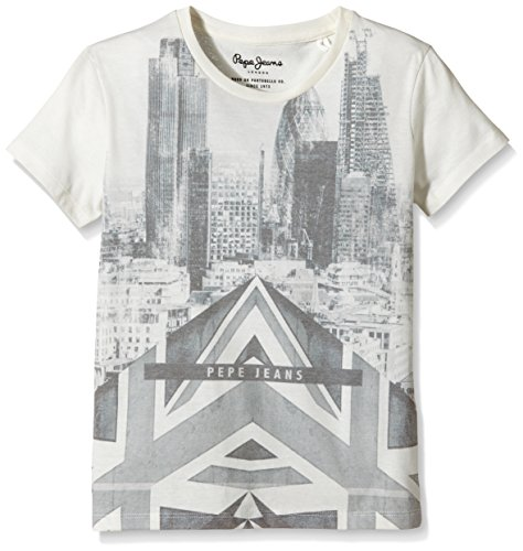 Pepe Jeans - Tal, T-shirt Bambino, Bianco (Factory White), 12 Anni (152 cm)