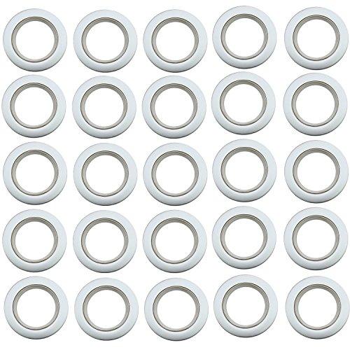 Gosear 85 Piezas Nano Cortina Plástico Ojete Romano
