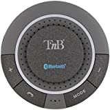 T'nB CARBTKIT1 Kit mains libres Bluetooth pour Smartphone Argent