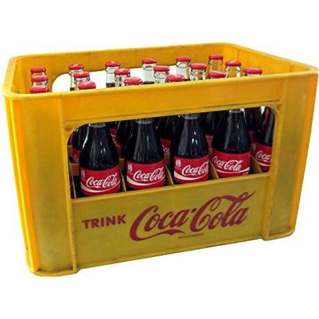 24 x Coca Cola Classic 0 33L caso original botella de cristal