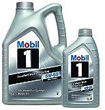 Mobiles Motoröl 1 fs x1 5W-50 - Packung mit 6 LTS Advanced-Vollsynthetik (Neue verbesserte Formel)
