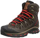Salomon Quest Origins GTX, Unisex-Erwachsene Trekking- & Wanderschuhe, Braun (Absolute Brown-X/Black/Quick), 37 1/3 EU (4.5 Erwachsene UK)