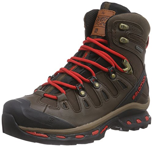 Salomon Quest Origins GTX Unisex-Erwachsene Trekking &Wanderschuhe Braun (Absolute Brown-X/Black/Quick)