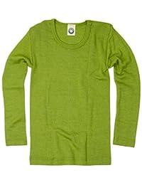 Cosilana Kinder Hemd - Pullover - Longsleeve aus Schurwolle kbT und Seide