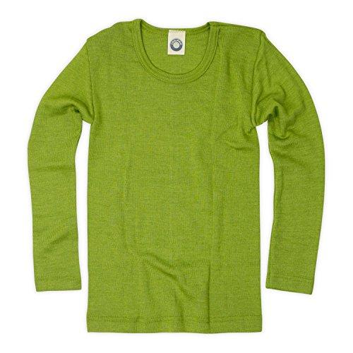 b65f4468d0c63 Zum Shop · Cosilana Kinder Hemd - Pullover - Longsleeve aus Schurwolle kbT  und Seide